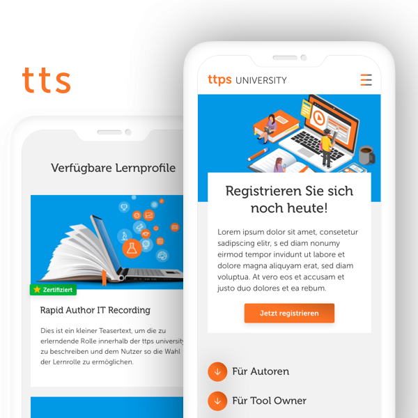 E-Learning-Plattform ttps University