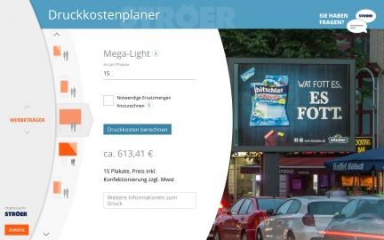 Druckkostenplaner Mega Light